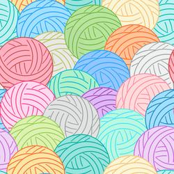 Balls of Yarn- Multi
