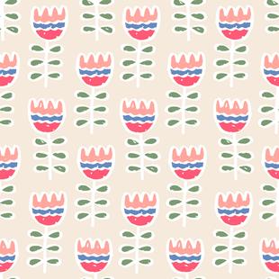 Petit Tulips Pastel