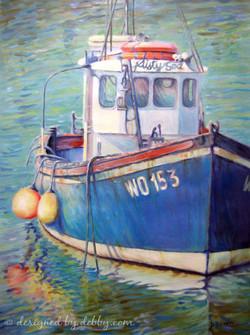 13. Misty Sea Boat
