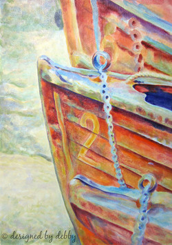 7. Wooden Boats