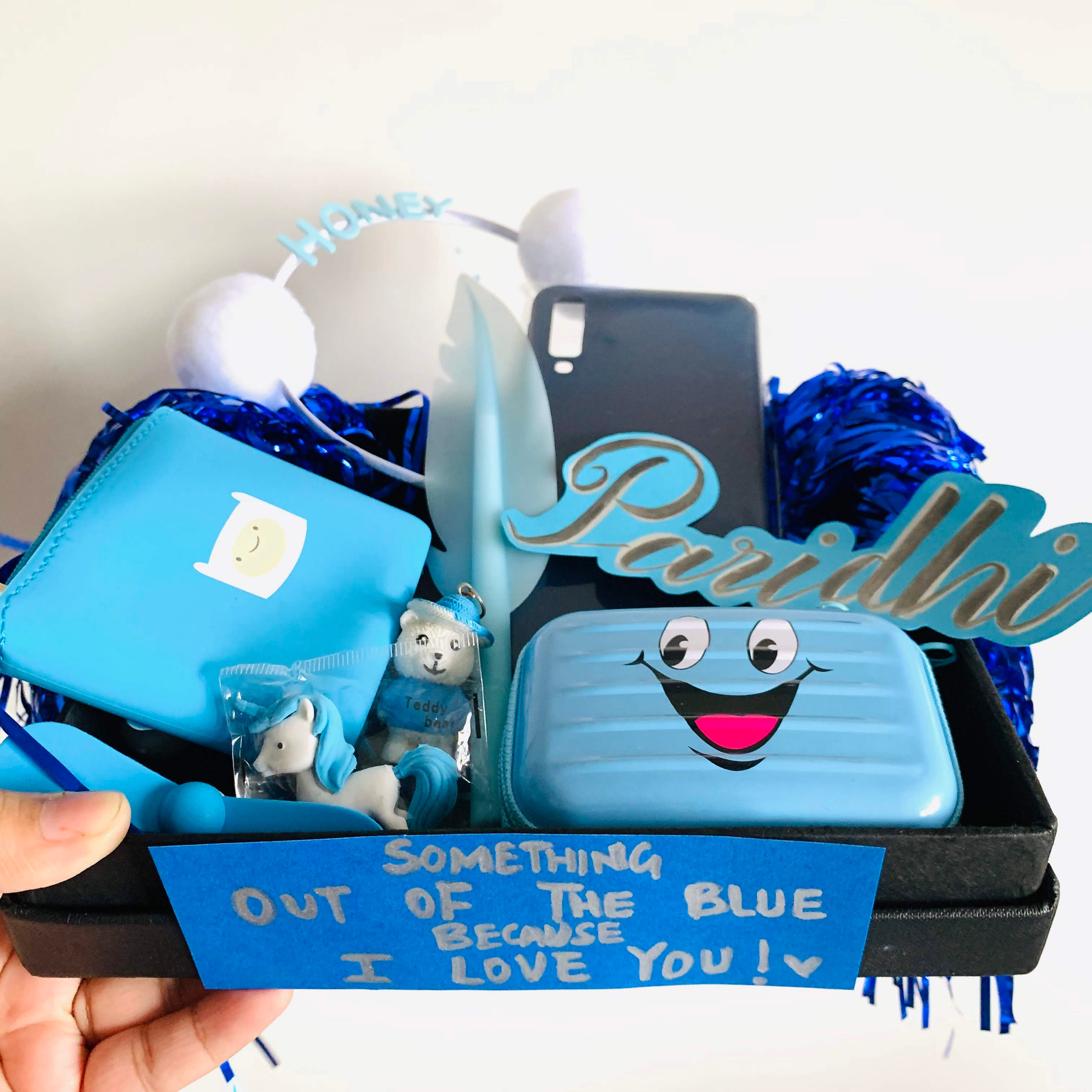 Something Out Of The Blue Hamper The Giftique Store