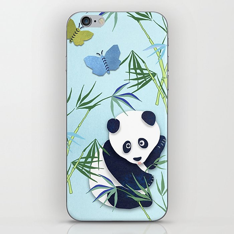 Designed by Debby Panda Phone Case