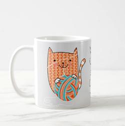 Itty Bitty Orange Kitty