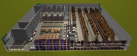 Supply Chain Network W2MO warehouse design