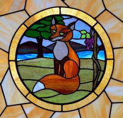 Fox guarding the door