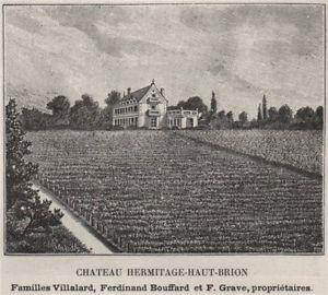 Château Haut Brion 1 Hermitage