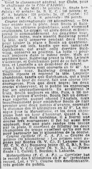 La victoire de Jean Bouin