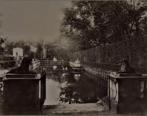 1783-1896 Château Raba Archives Bordeaux Métropole_0268_S_0006_035_B La pièce d'eau