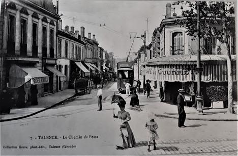 Boulevard chemin de Pessac