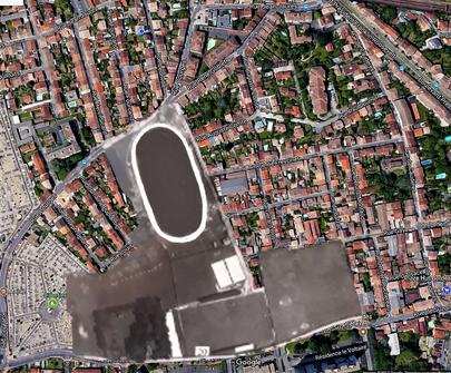 Le Stade Suzon et le Vélodrome faisait partie du même même complexe à l'origine.