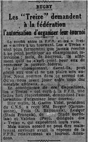 E. De Luze leader des présidents séparatistes.