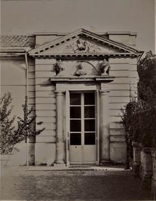 1783-1896 Château Raba Porte de la salle des concert
