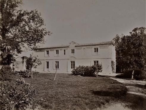 1783-1896 Château Raba Batiment démoli à la fin du XXème siécle.