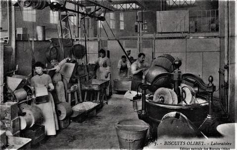 Biscuits Olibet le laboratoire