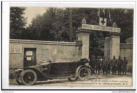 Hôpital temporaire de Victor Louis 1914 à 1916