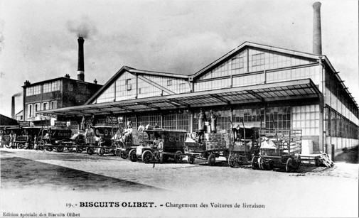 Biscuits Olibet le chargement des voitures