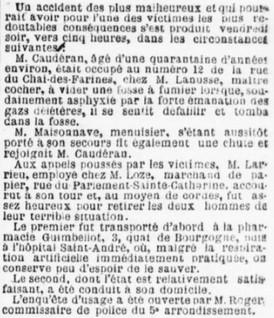 Jules Loze habite Bordeaux en 1901.
