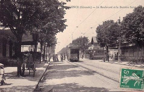 Boulevard et barrière Saint Genès