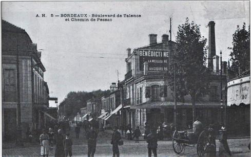 Boulevard et chemin de Pessac