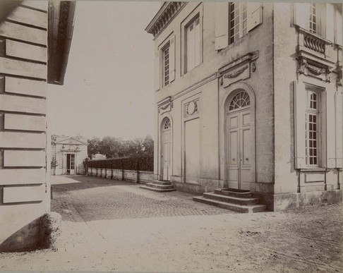 1783-1896 Château Raba  Entrée