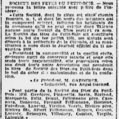 Comité Petit-Bois