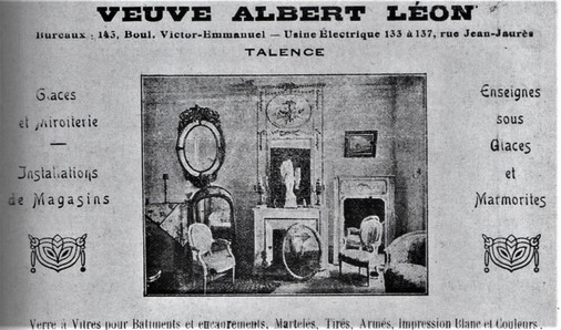 Albert Léon Verrerie