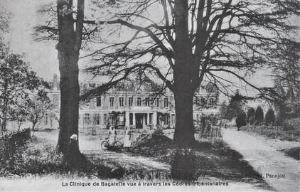 La propriété fut léguée par Mlle Bosc à Mlle Hamilton en 1914