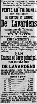 Domaine de Lavardens