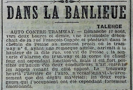 Autos VS Tramway