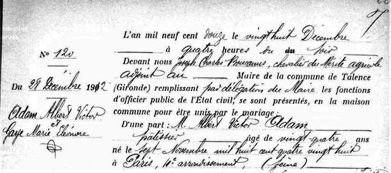 Il a reçu le Mérite Agricole en 1906.