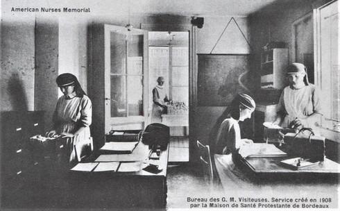 1908 Les visiteuses de la maison protestante
