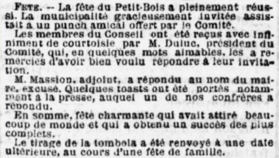 Punch au Petit Bois