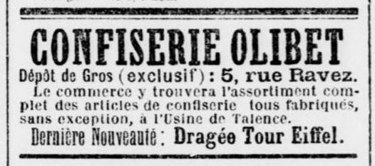 Confiserie Olibet