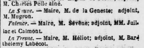 Elections Frédéric Sévène