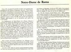Notre Dame Rama