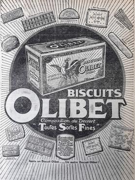 Publicités de la maison Olibet
