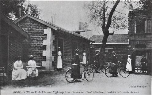 Les Nurses contribuèrent au financement de l'ensemble hospitalier.