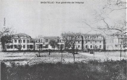 Le dispensaire fut construit grâce à la commission Rockefeller.