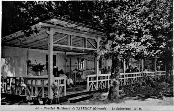 Hôpital temporaire de Victor Louis 1914 à 1916.