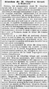 Législatives Charles Gruet