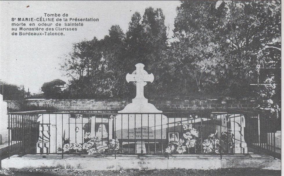 Sainte Marie Céline Tombe