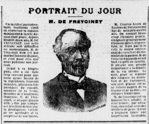 Charles Louis de Saulés de Freycinet