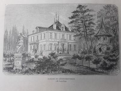 1890 Château la Tour Haut Brion
