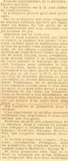 049 Régionalisme base de l'amateurisme