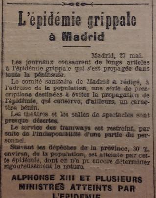 L'Espagne parle de l'épidémie