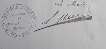 Huc Adolphe Maire 1901 à 1905