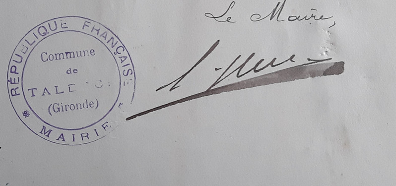 Huc Autographe