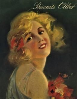 Affiche Olibet Biscuits