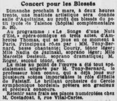 Concert au Lycée