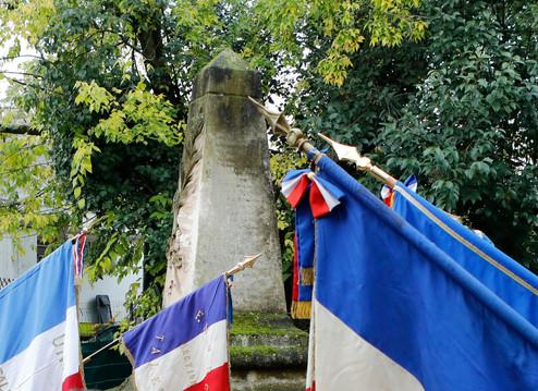 Cauderès Commémoration au Monument du SAB
